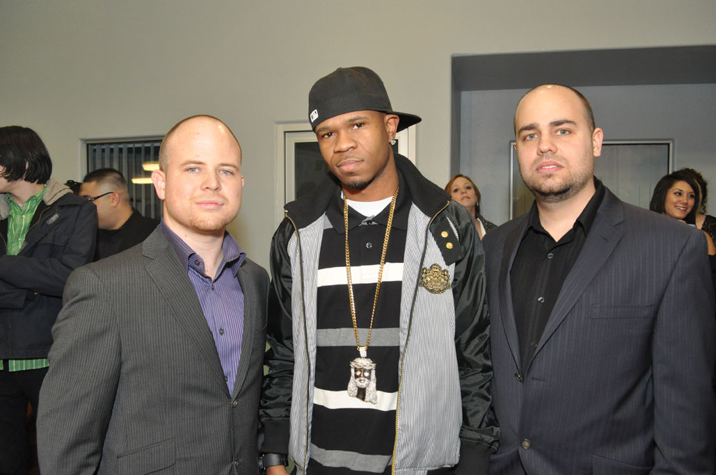 Robert, Chamillionaire and Troy