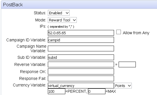 CPAlead Shiftcode Postback Setup