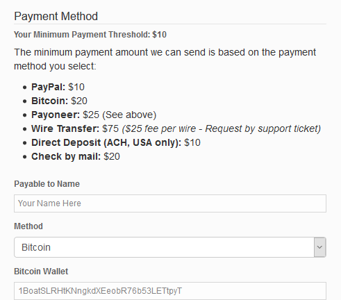 Bitcoin Now Accepted at CPAlead CPA Network
